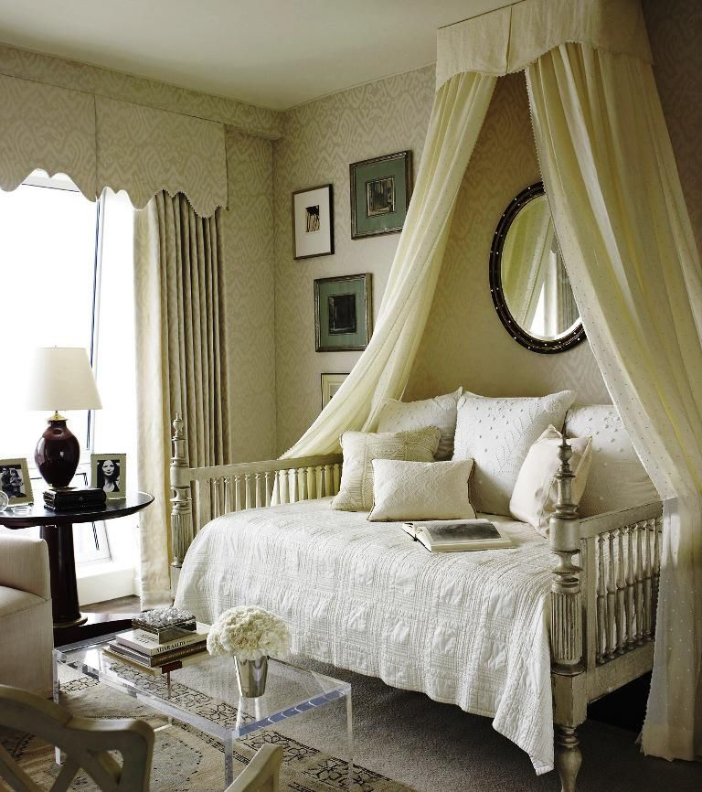 Diy Full Size Daybed Canopy Bed Diy Classic Bedroom Design