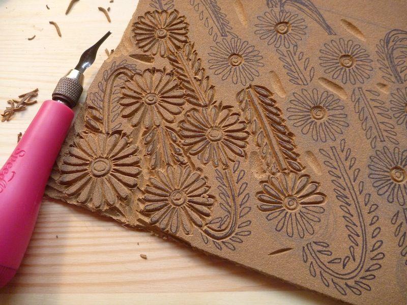 The printing process block clay tutorials