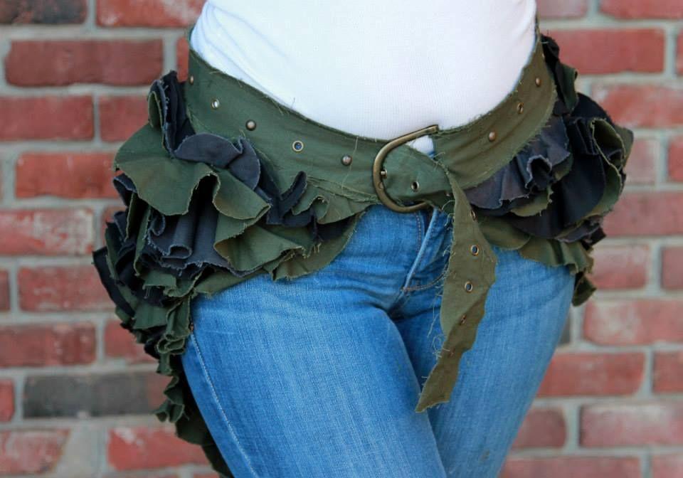 Ruffle Butt Belted Bustle skirts | corsets | Pinterest ...