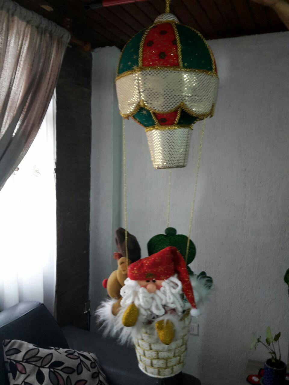 Globo noel y sus amigos decoracion navideña y lenceria de hogar
