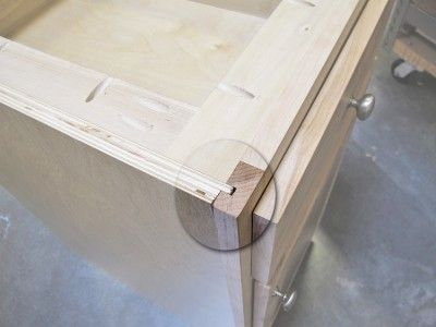 Using your table saw to make a rabbet and dado joint is a great way ...