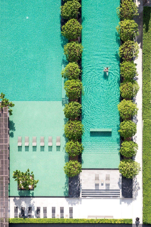 Pin de sinuhe torres en giardini terrazze e cortili for Diseno de piscinas residenciales