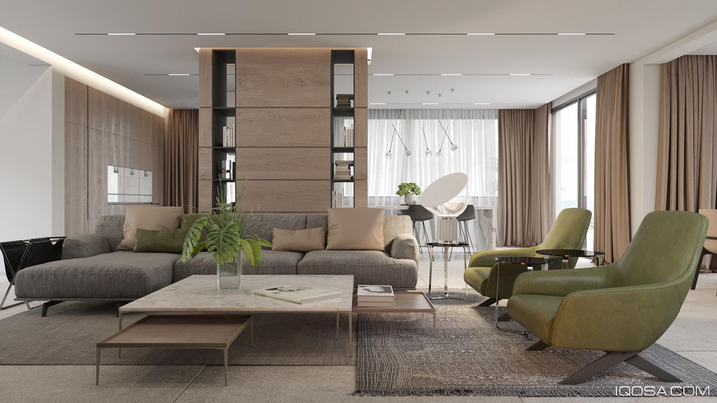 Interior Design Cost For Living Room Villa On The Sea Cost On Behance  Contemporary Interior