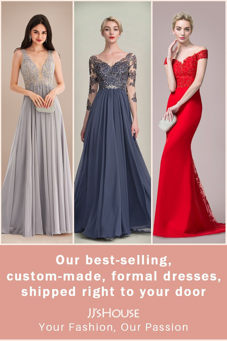 Our best-selling, custom-made formal dresses, for any occasion ...