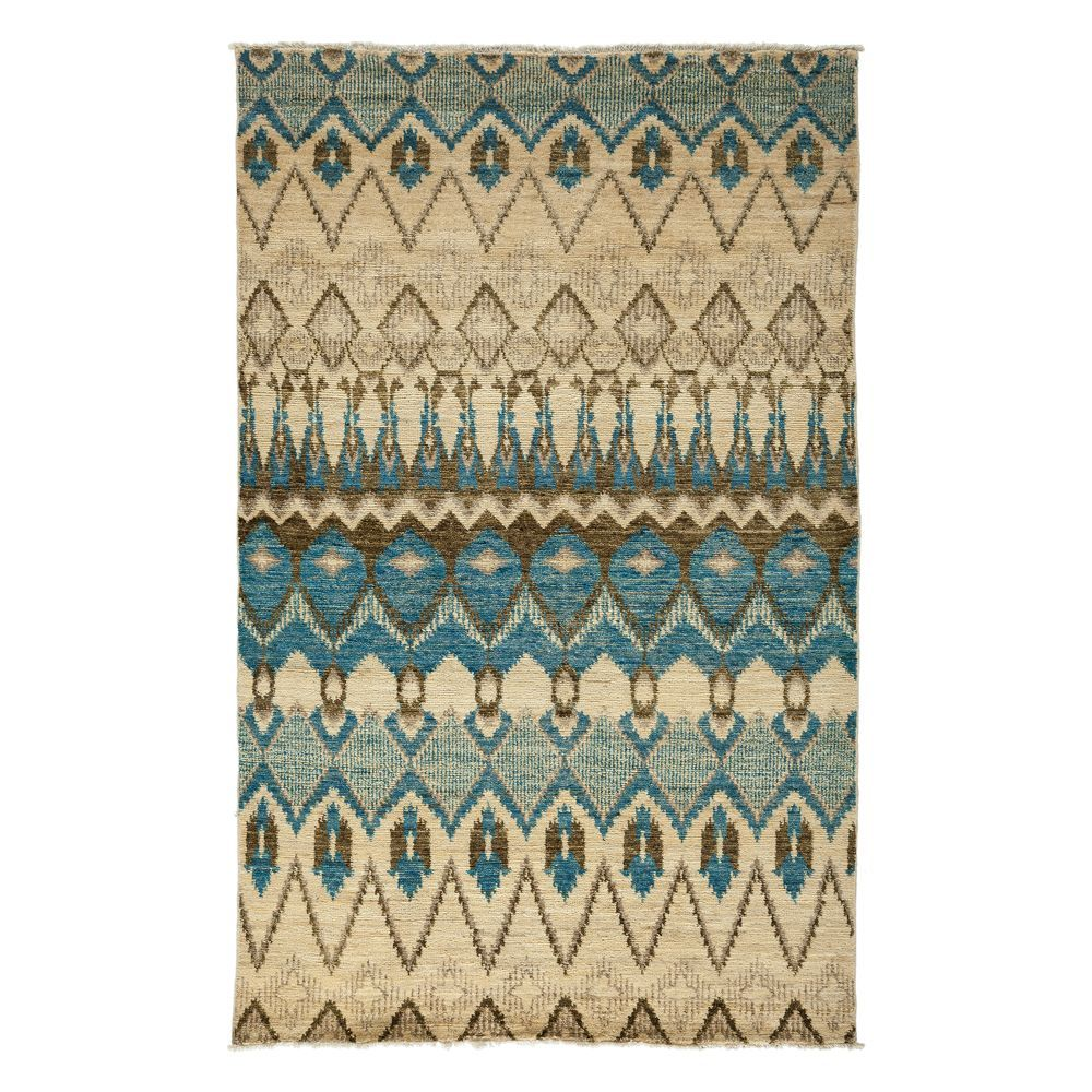 """Ikat Collection Oriental Rug, 5'1"""" x 8'2"""""""