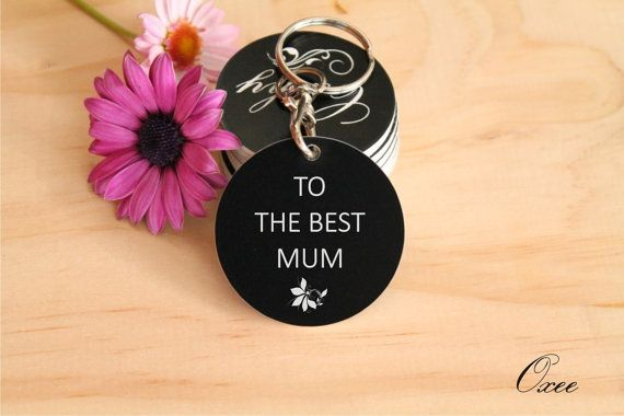 Mother's gift  Personalized with any message by LovelyKeychains, $15.00