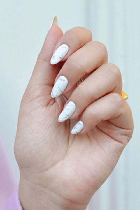 15 Fresh Design Ideas for Almond-Shaped Nails | Matte top coats ...