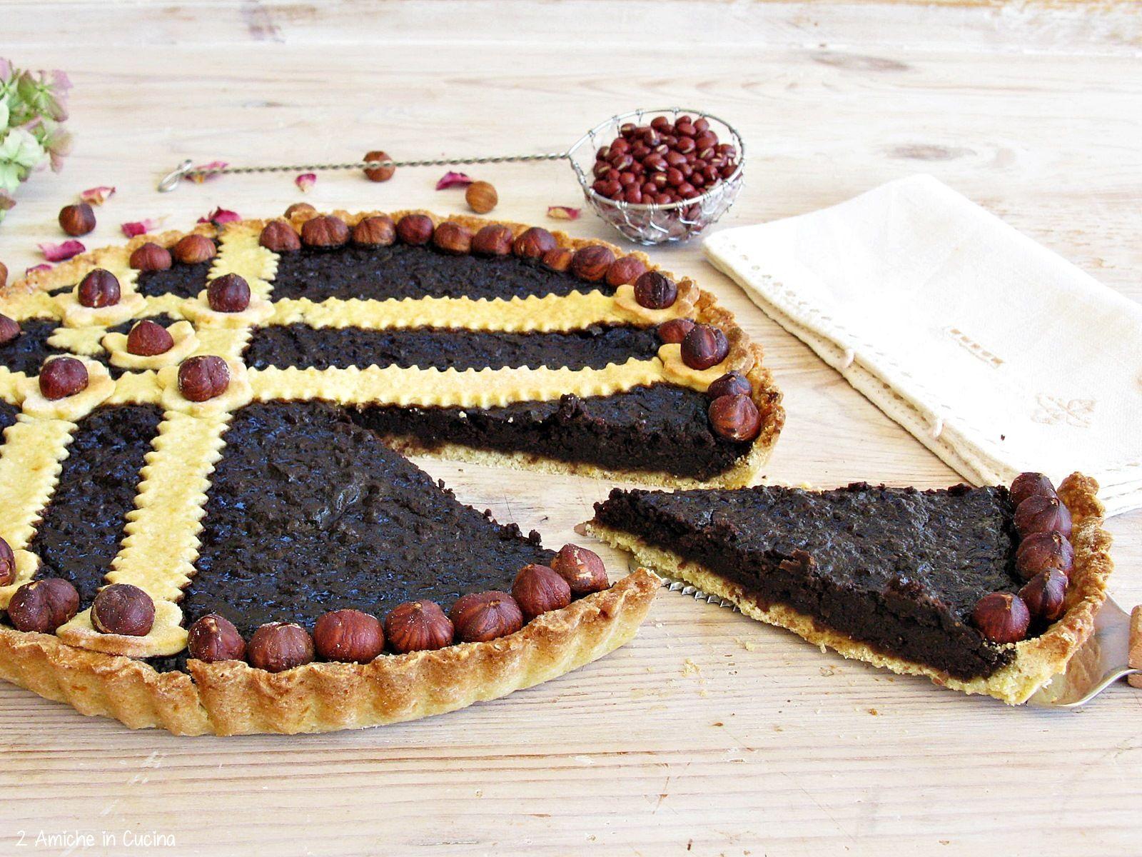 Dolci Da Credenza Biscotti Alle Nocciole : Crostata ai fagioli adzuki e nocciole credenzas crostate