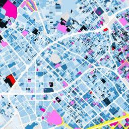 tous les trésors de Barcelone révélés par une carte #bigdata