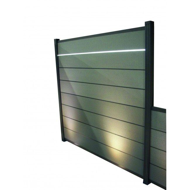 LEDZwischenleiste für Steckzaun Juist Steckzaun