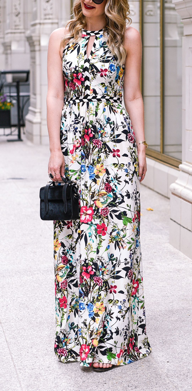 Floral Evening Gown Black Tie Optional Summer Style Black Tie Optional Dress Dresses Black Tie Optional [ 2197 x 1080 Pixel ]