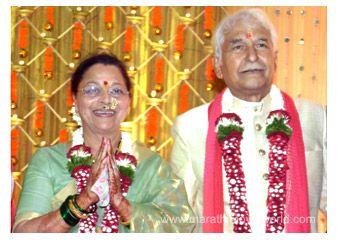 Ramesh deo and seema celebrate their th wedding anniversary