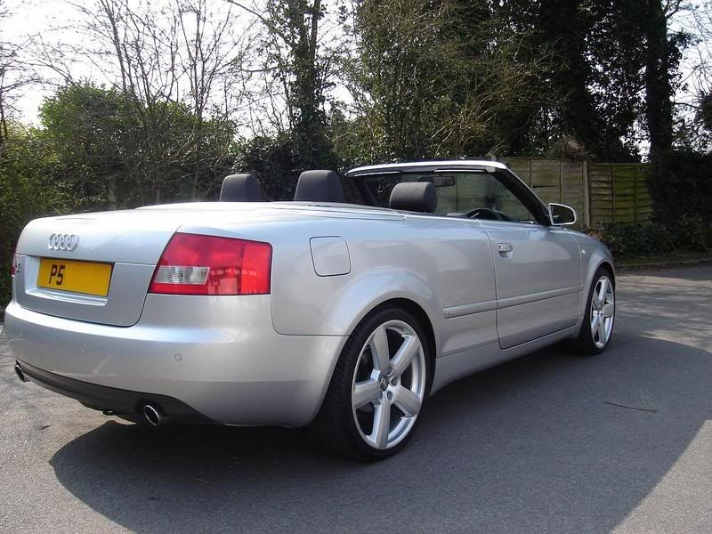 pic request please convertible cabs on coilovers audi audi a4 cabrio. Black Bedroom Furniture Sets. Home Design Ideas