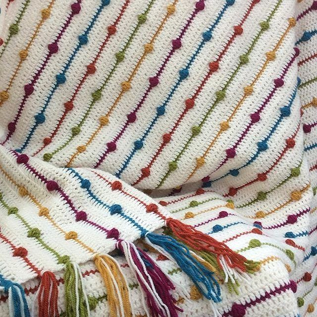 lagatadelana & Katia Planet ❤️ Crochet blanket made by