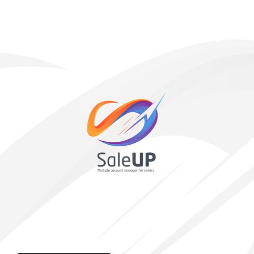 Saleup Saleup App Logo Design Saleup Is An App Mobile Allowing Seller Accounts Managers Minimalist Logo Design Branding Design Logo Logo Design Inspiration