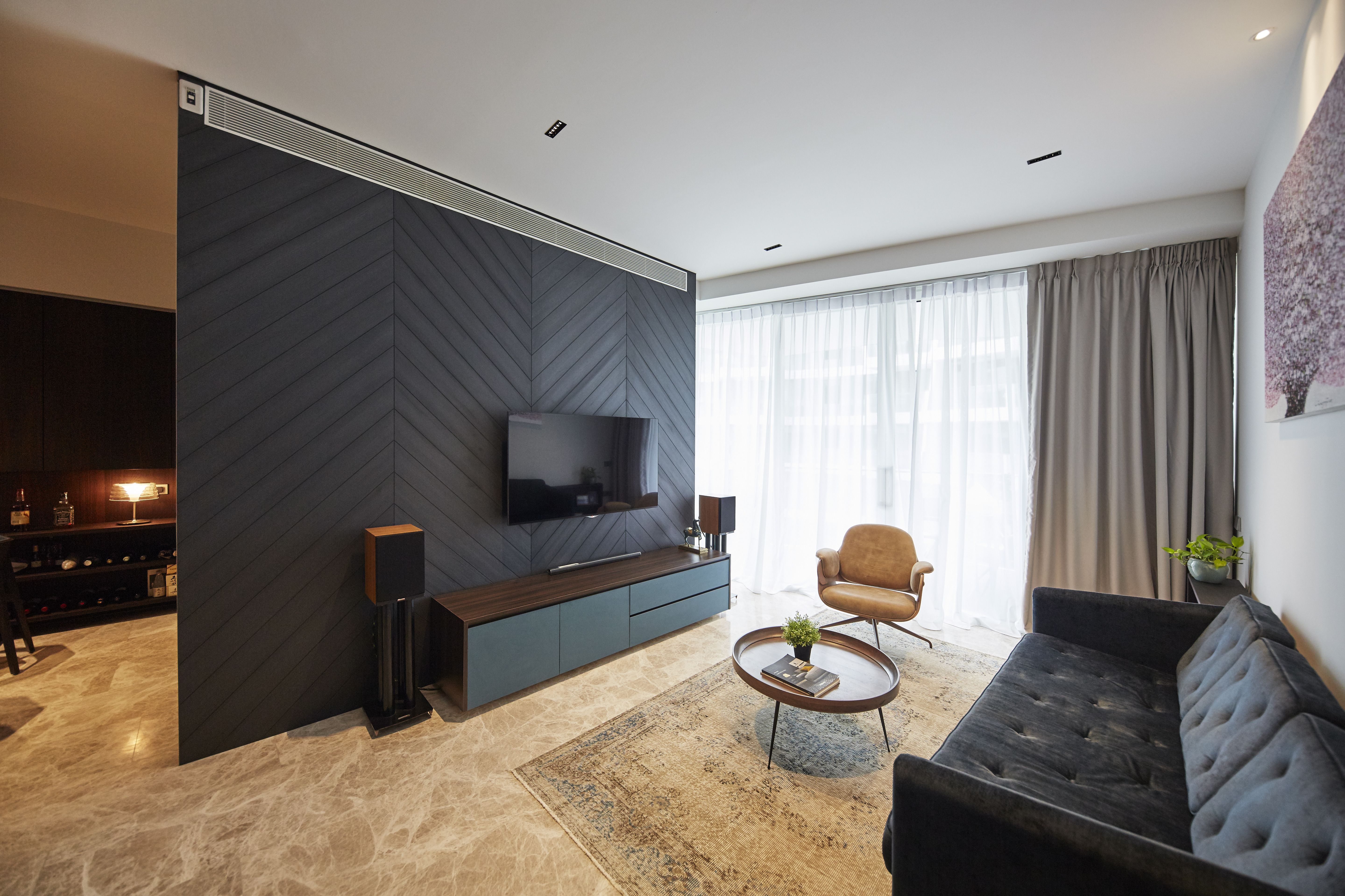Featured Wall Singapore Interior Design Carpenters With Images