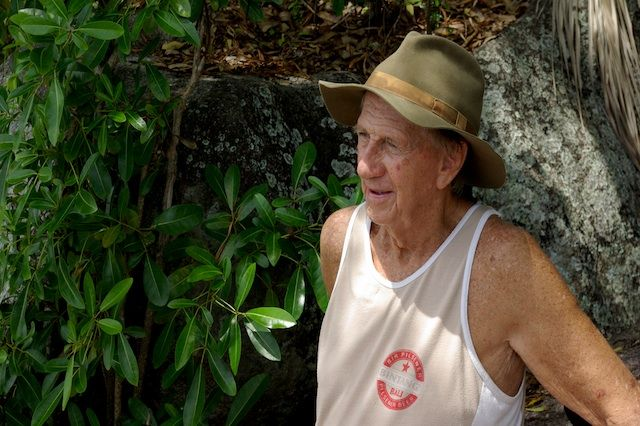 86-Year-Old Man Creates Tortoise Sanctuary on His Own Private Island