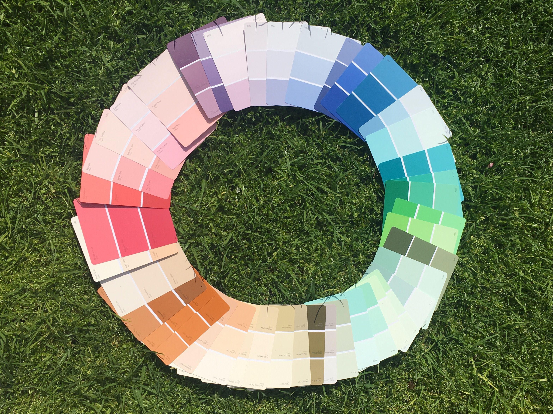 A Taubmans paint colour wheel!   DIY Home Projects   Pinterest ...