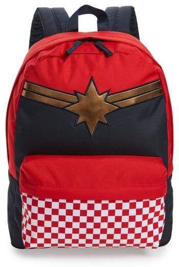 26eff05b8bb9e3 Vans x Marvel Captain Marvel Realm Backpack