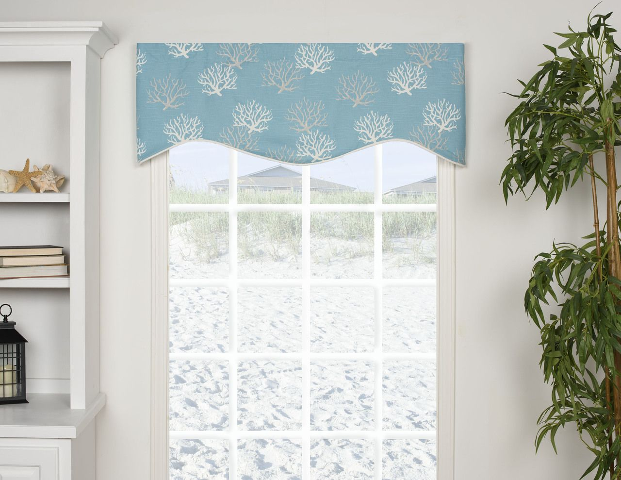 Captia Shaped Valance In 2019 Decor Beach Cottage Decor Valance Curtains