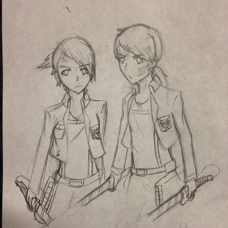 Attack on Titans Sketch