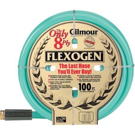 gilmour 10 12100 12 in x 100 8 ply flexogen garden hose - Garden Hose Walmart
