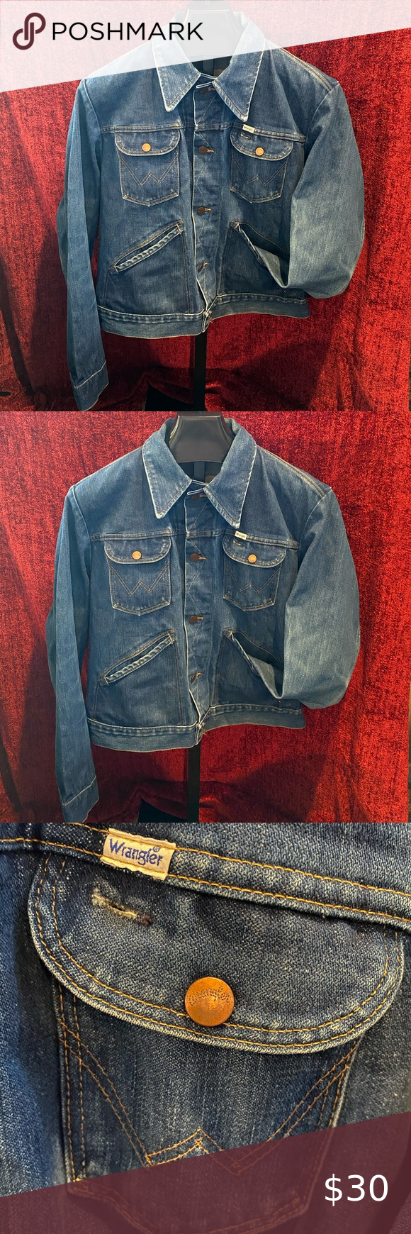 Vintage Wrangler Women S Jacket Size 46 Vintage Wrangler Jackets Jean Jacket Women [ 1740 x 580 Pixel ]