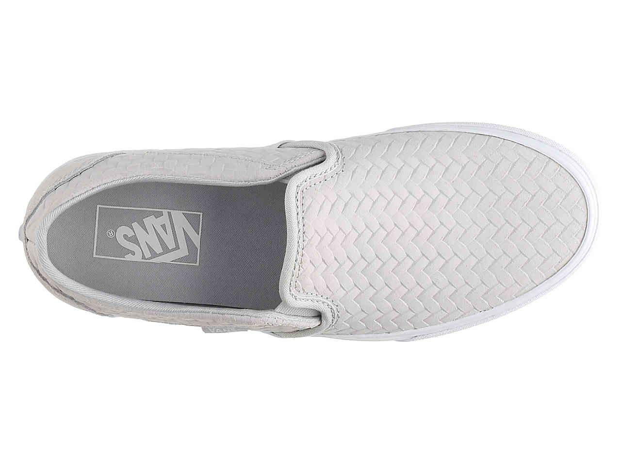aa04a6bb1fa7 Vans Asher Weave Slip-On Sneaker - Women s Women s Shoes
