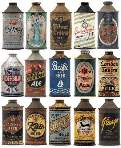 Explore Beer Brands Vintage Branding And More