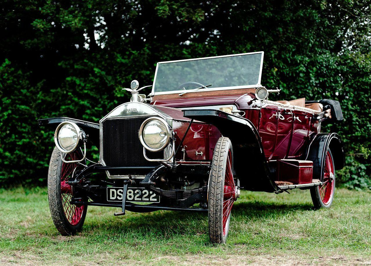 1912 Napier 30 Hp Antique Cars Classic Cars Auto Start