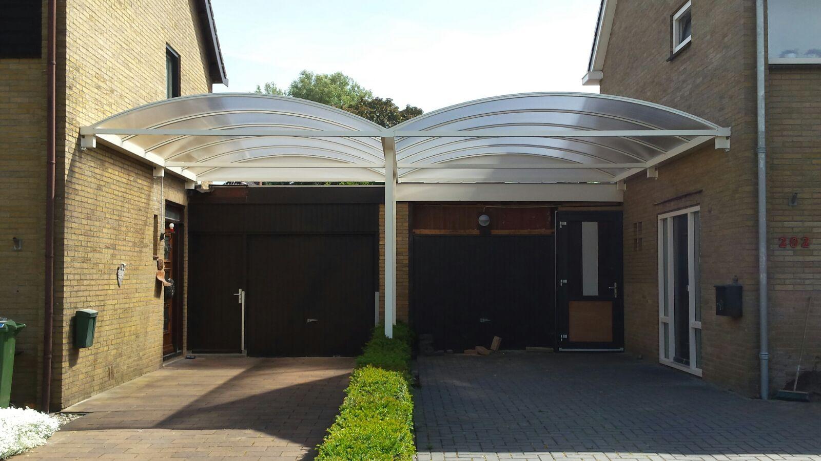 Dubbele carport boog | Aluminium carports | Pinterest | Aluminum carport