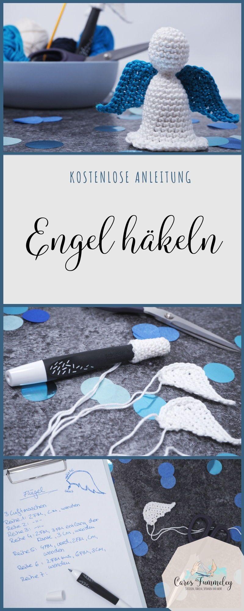 Anzeige: Engel häkeln für den Schneider Breeze - Kostenlose Anleitung #haken