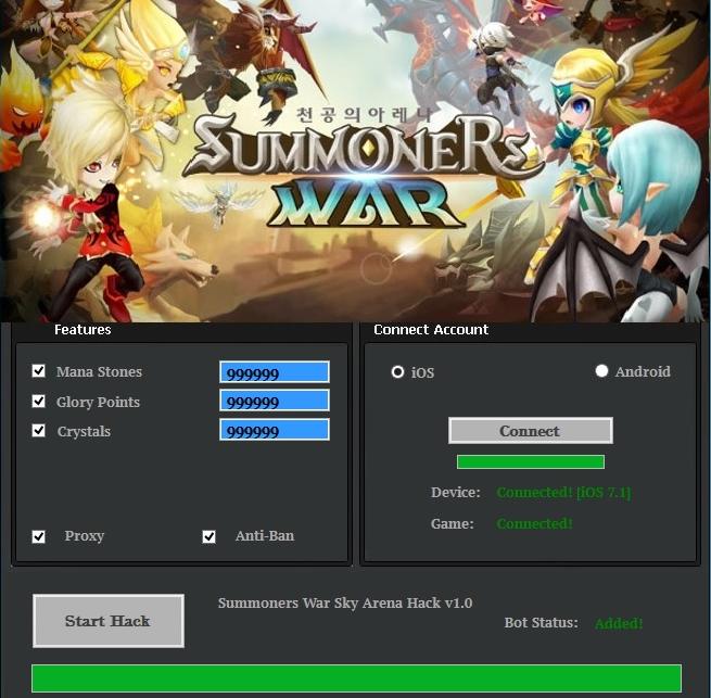 summoners war hack ios no survey