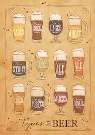 Resultado de imagem para tipos de cerveja