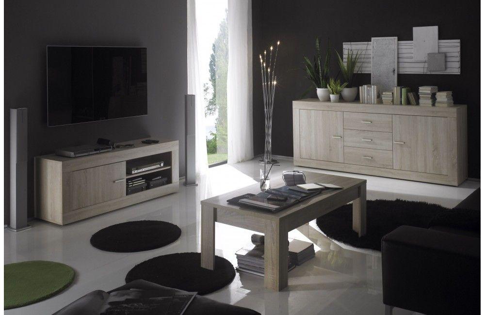 Meuble de salon design havana meuble pas cher meuble - Table de salon design pas cher ...