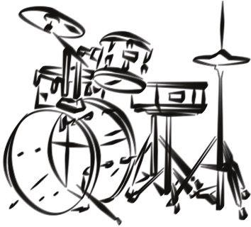 Drum Kit Drums Art Drum Tattoo Drum Drawing