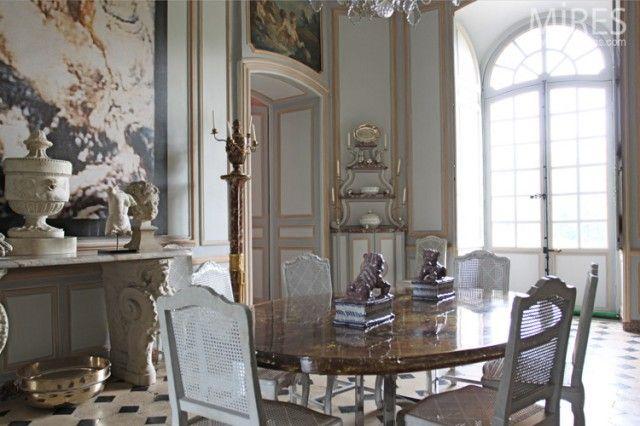 Salon ou salle à manger French interiors I love 10 Pinterest