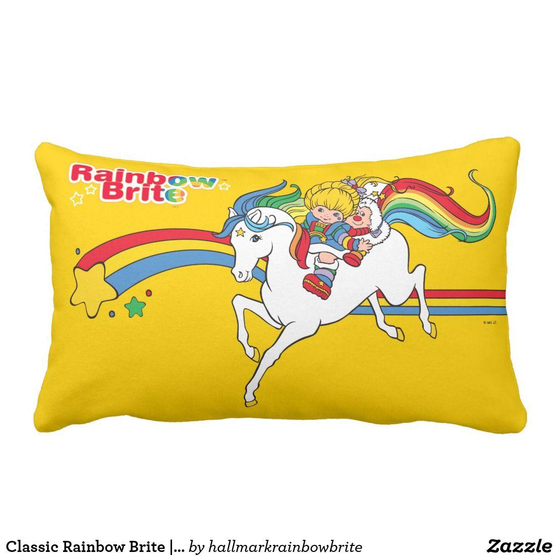 Classic Rainbow Brite | Starlight Jumping Lumbar Pillow