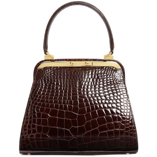 Brooks Brothers Alligator Handbag 5