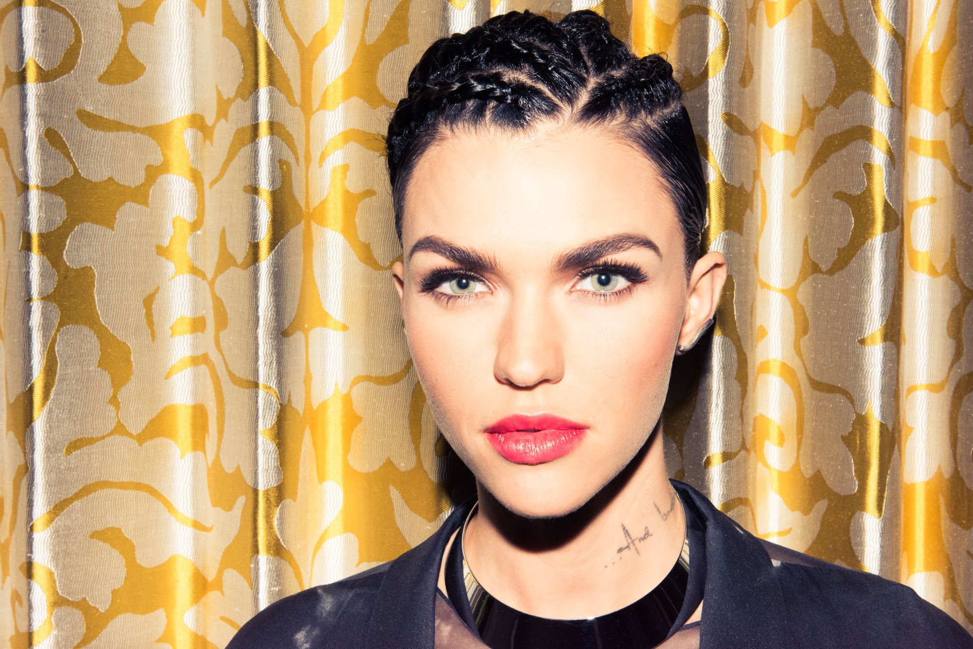 Ruby Rose Never Plucks Her Eyebrows Beauty, Ruby rose