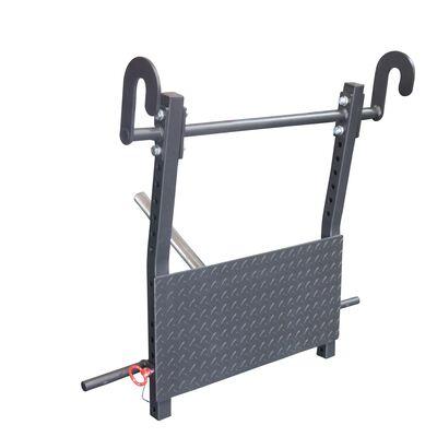 power rack leg press attachment  leg press diy gym