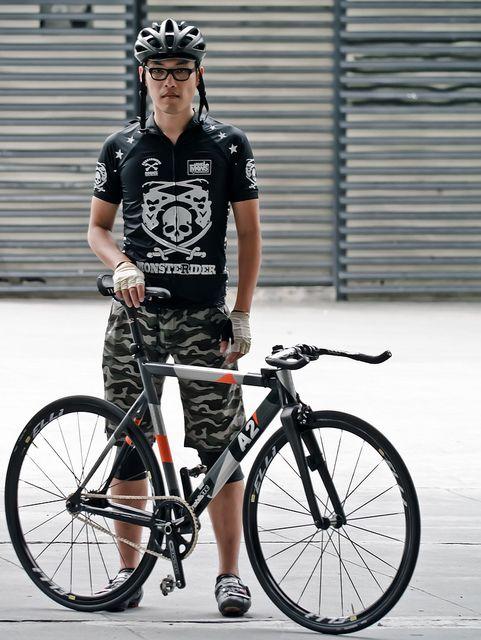 A2 X Bullhorn Bicycle Fashion Urban Bicycle Singlespeed Bicycle