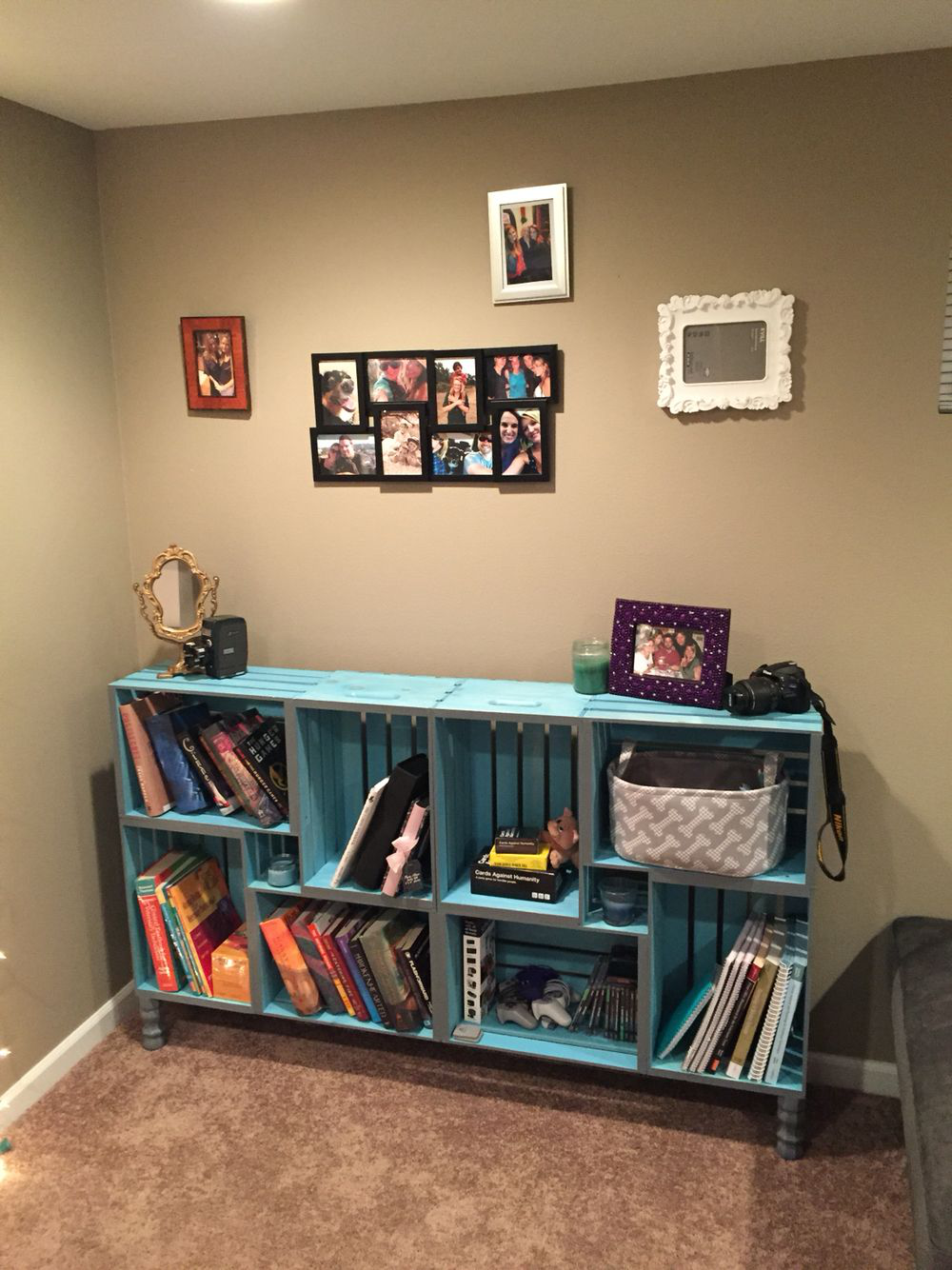 Some Of The Easiest And Best Projects Made From 2 4s Bookshelves Diy Crate Furniture Home Diy