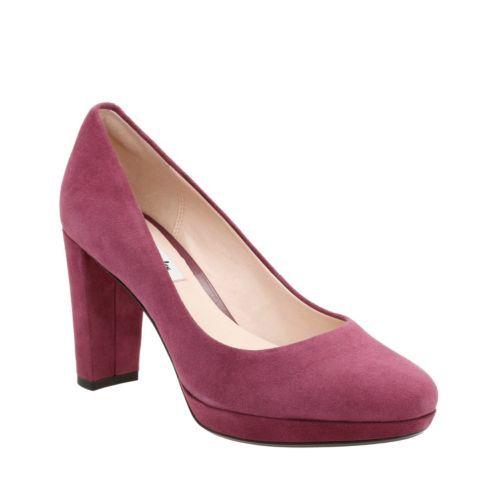 Kendra Sienna Plum Suede womens-heels | Shoes | Pinterest | Short ...