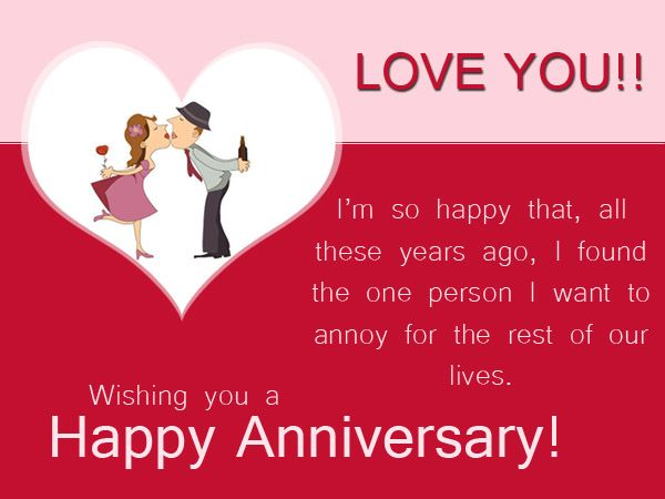 funny happy anniversary quotes for him