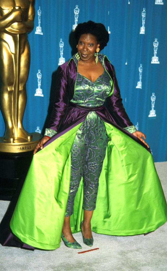 Whoopi Goldberg From Worst Dressed Stars Ever At The Oscars