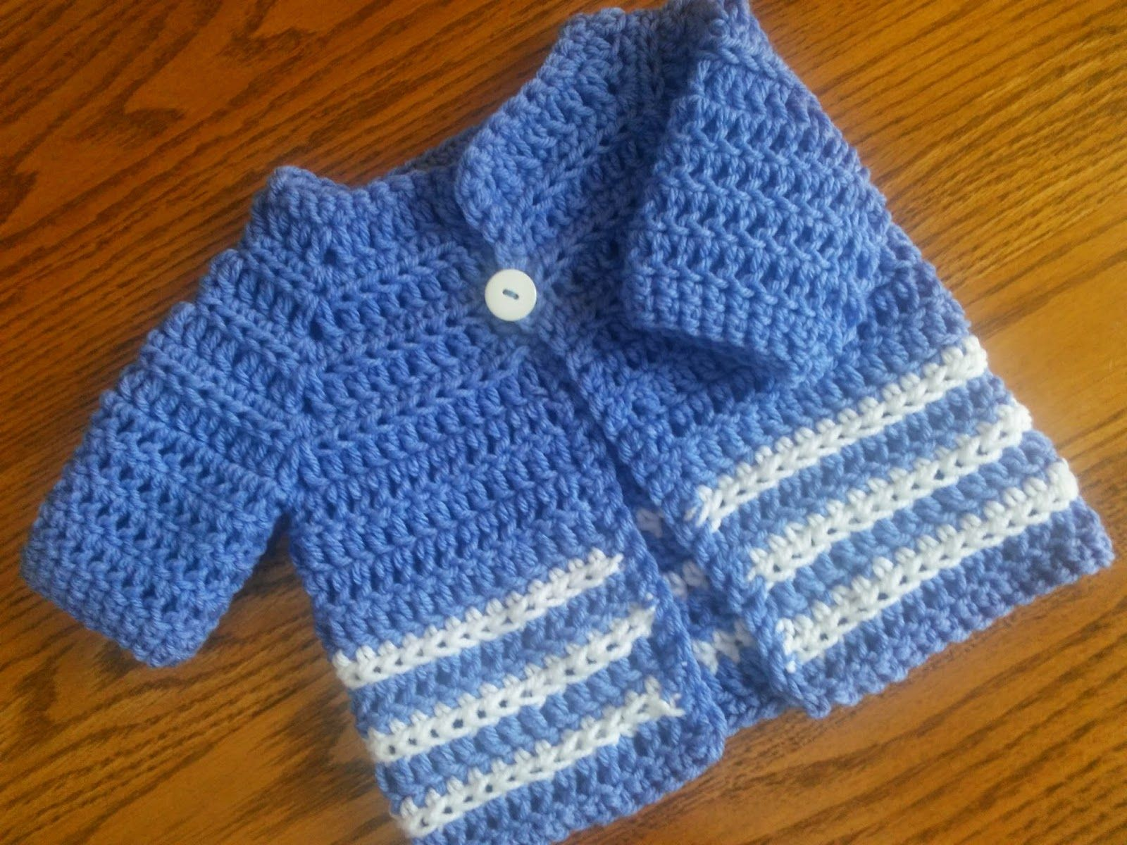 Beb del suter modelo del ganchillo fcil sacos pinterest free crochet sweater patterns for babies sweater pattern bankloansurffo Image collections