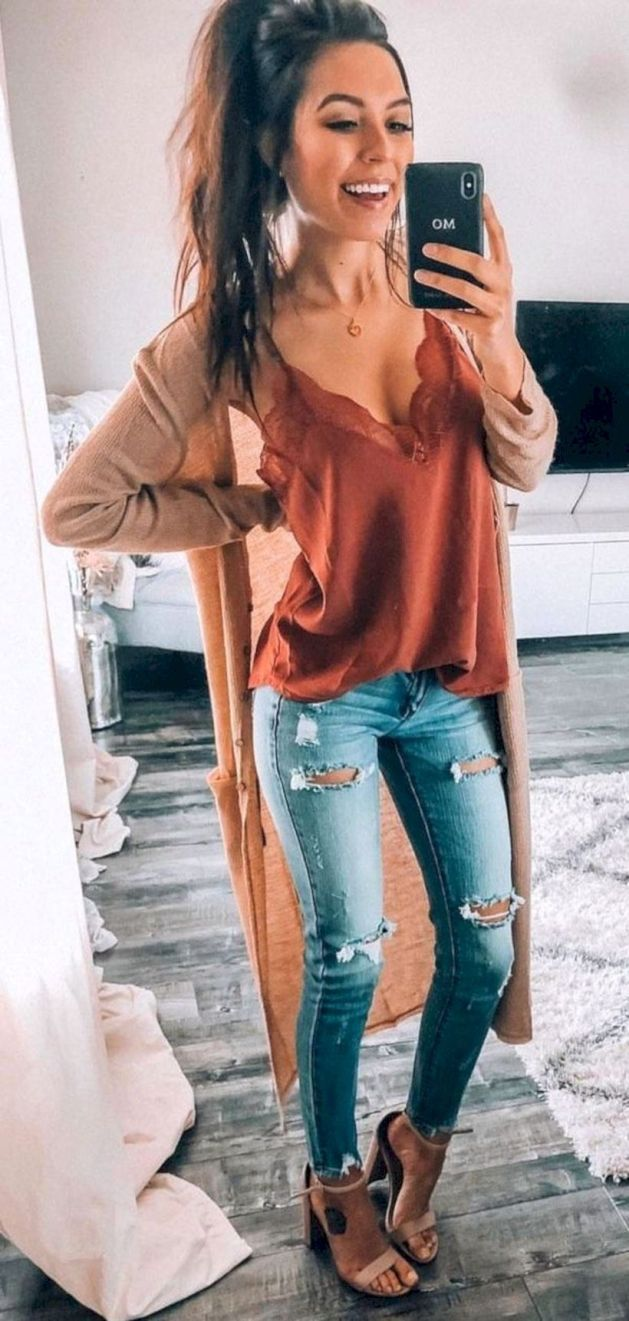Stylish Spring Outfits Ideas 14 #springoutfits
