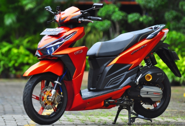 Modifikasi Honda Vario 150 Simple Desain Pinterest Honda Cars
