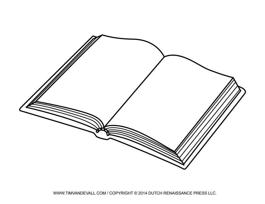 Free Open Book Clip Art Images Book Clip Art Book Template Art Images